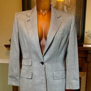 CHIC PLAID BLAZER BY RALPH LAUREN - SZ 4 🎄